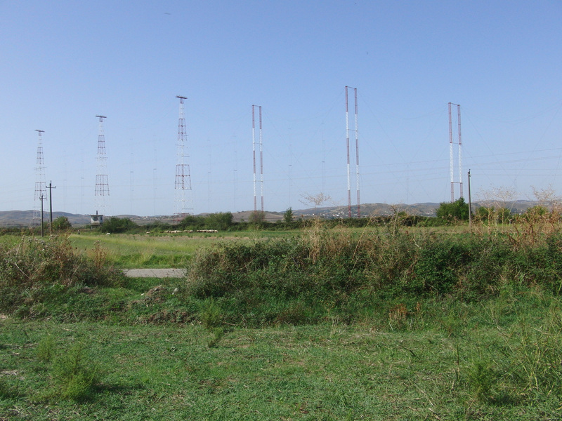 Antennas to the West