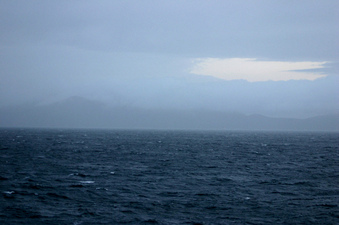 #1: View east towards Deception Island