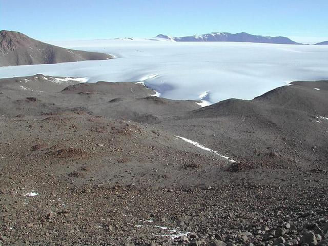 Polygon Spur and McCarthy Glacier, to the south.