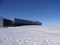 #5: View North along 90°W: Amundsen-Scott South Pole Station
