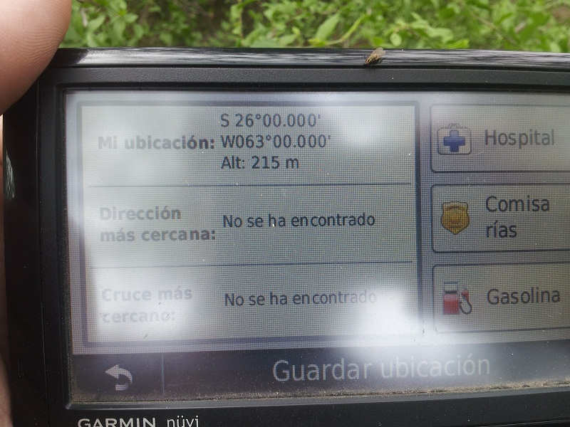 VISTA DEL GPS. GPS PROOF