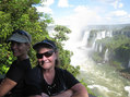 #7: Silvia Bergamasco y Raine Golab en las cataratas del Iguazú. Silvia  Bergamasco and Raine Golab at Iguazu cataracts