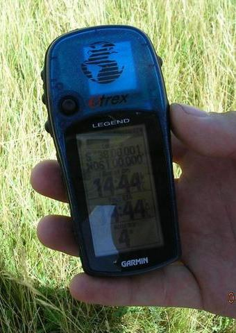 Gps at 4 meter 14:44 and maybe 40 C of temperature
