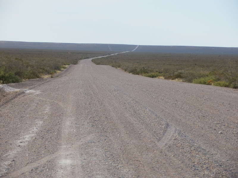Dirt Road towards the Confluence Point