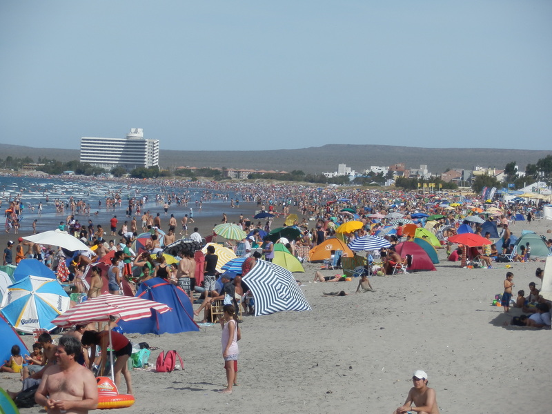 Beach in Puerto Madryn