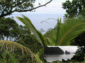 #5: From the Mt. 'Avala Trail, another visible landmark is Pola Island (the Cock's Comb), shown also in the small inset.