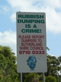 #8: Rubbish dumping is a crime!