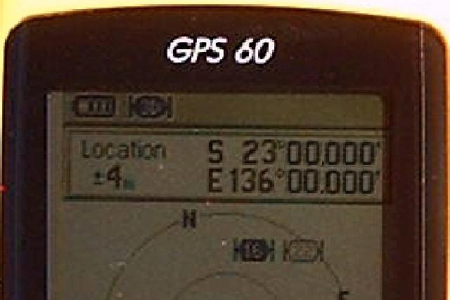 Garmin GPS-60 Display
