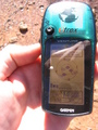 #2: The GPS at the confluence.