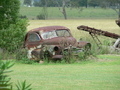 #8: A very rusty old vintage car