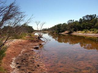 #1: Savoury Creek - rather difficult to cross.