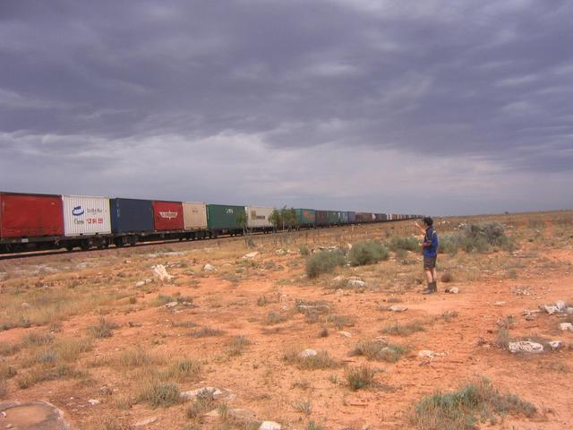 Nullabor freight train