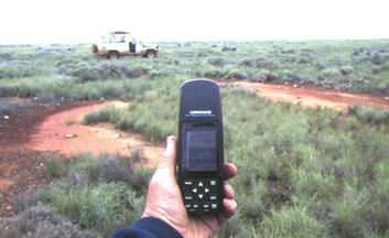 #1: Confluence 31°S 128°E, 18km S-S/W of Forrest on the Nullarbor Plain, Western Australia.