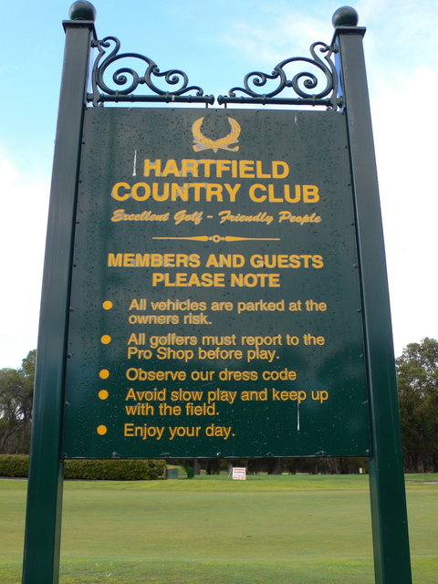 Welcome to Hartfield Country Club