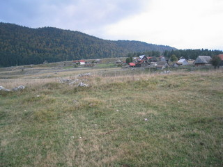 #1: General and West view of the confluence: most of Džimrije-Devetok seen in background