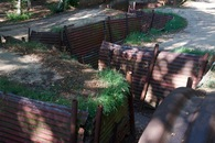 #9: Preserved World War I trenches at the nearby Sanctuary Wood Museum