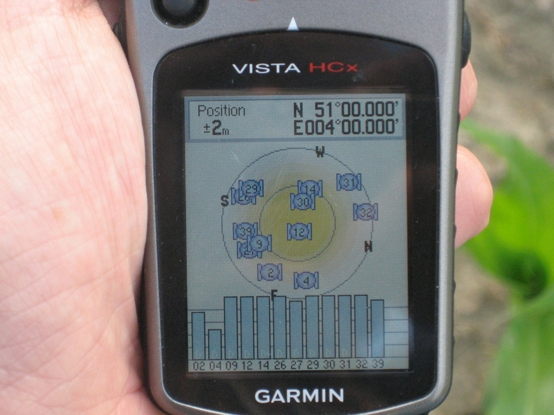 GPS signal - brilliant!
