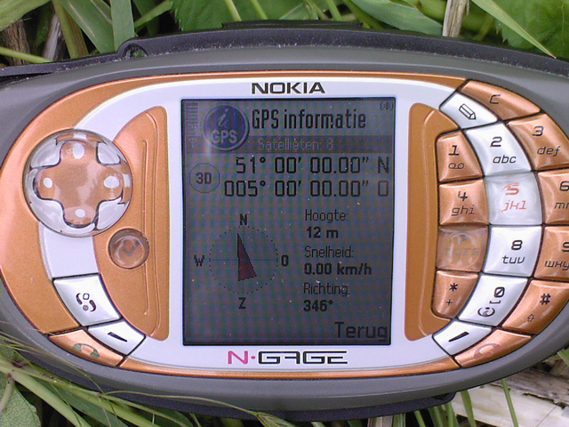 The confluence 51n 5e on a nokia ngage qd