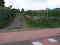 #10: Start of the path on Steenweg Diest