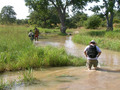 #9: With the recent rains, the only way to the Confluence was on foot