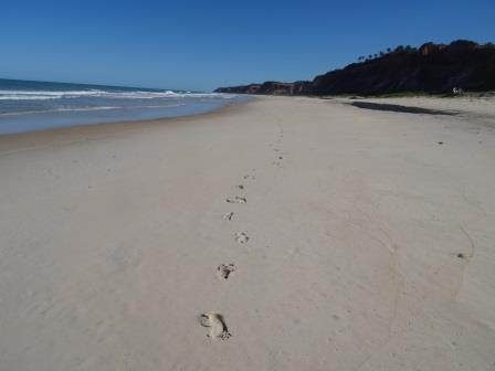 Playa (solo mis huellas). Beach (only my footprints)