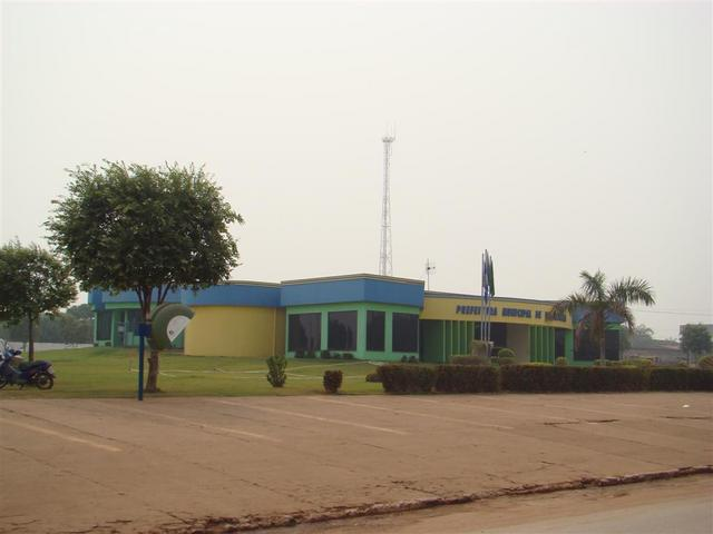 Paranatinga city town hall