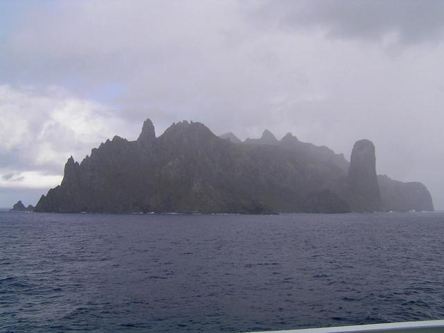 Ilha da Trindade seen from North