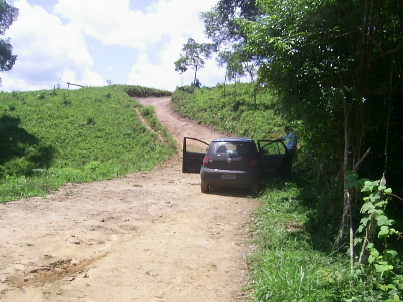 Paramos o carro a 370 metros da confluência - we stopped the car 370 meters close to the confluence