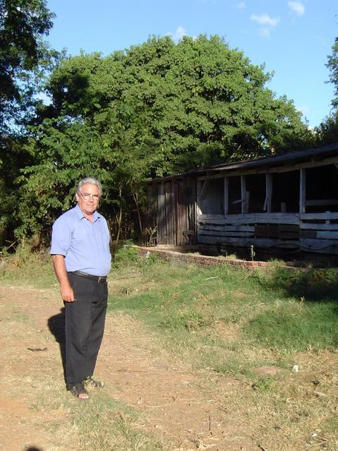 Mr. Carmo Mittmann, owner of the farm