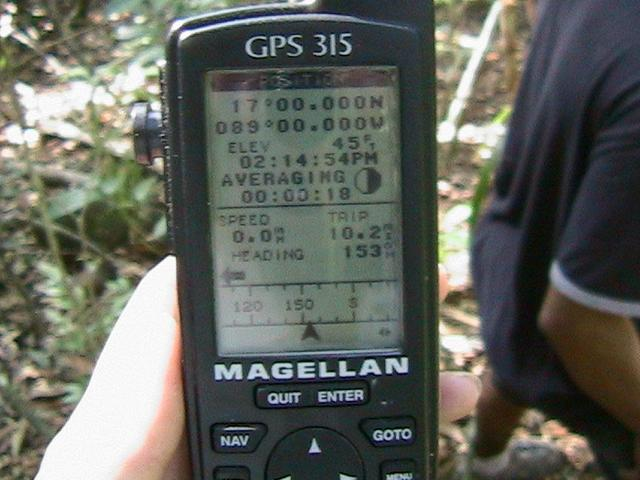 The GPS Unit- all zeros!
