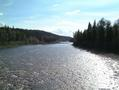 #5: Berland River confluence in middle of photo