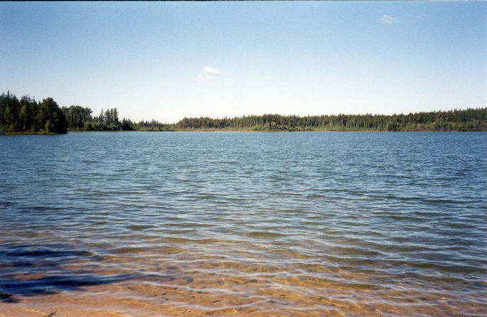 Mile Seven Lake, a boyhood trout fishing lake