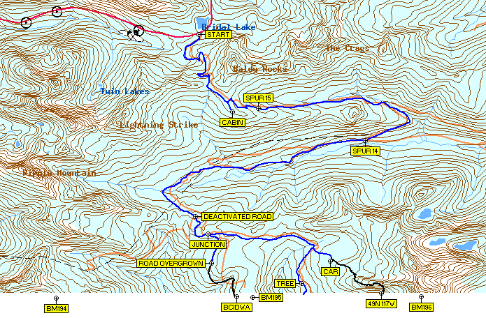 Toporama topographic map