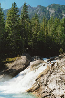 #1: Lower Mehatl Creek Falls
