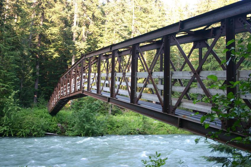 Cheakamus River bridge