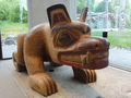 #7: MOA Carved bear