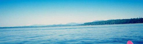 #1: Facing North towards Cortes Island