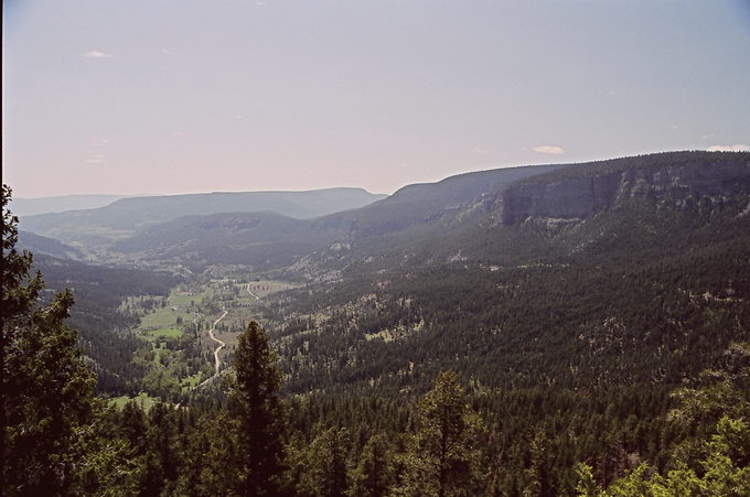 Deadman river valley