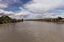 #5: Fraser River, from footbrige in Quesnel