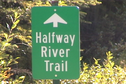 #2: Halfway River Trail sign