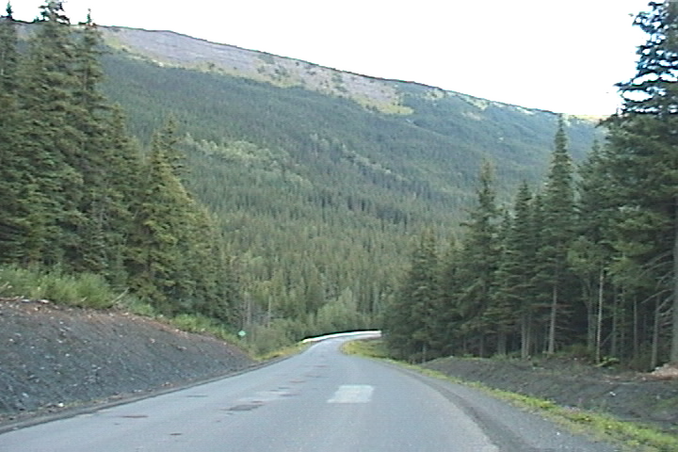 east, towards confluence, from highway