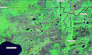 #10: NASA Landsat satellite image (early 1990s)