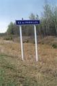 #3: 53 RD parallel sign along highway