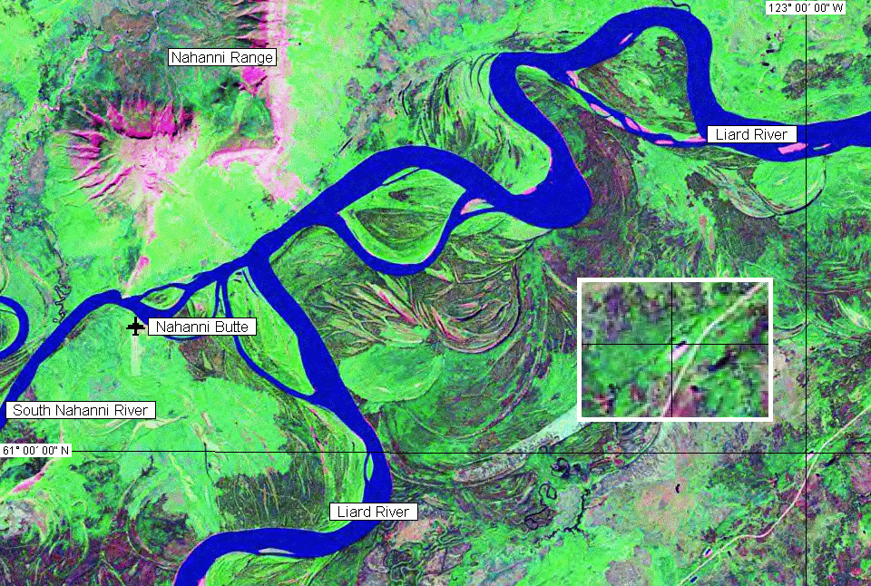 NASA Landsat satellite image (early 1990s)
