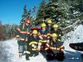 #3: Firefighter team 3 at the beginning of the research