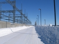 #9: Road on top of power station / Chemin sur le toit de la centrale