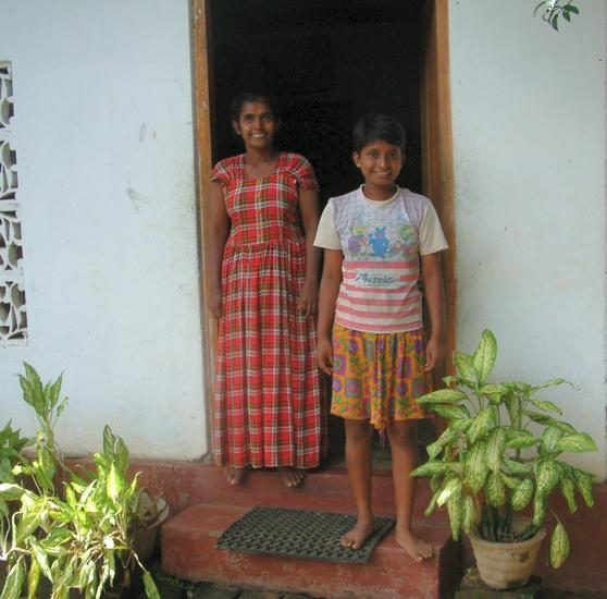 Sumedi Menaka (my translator) and Mrs Menaka