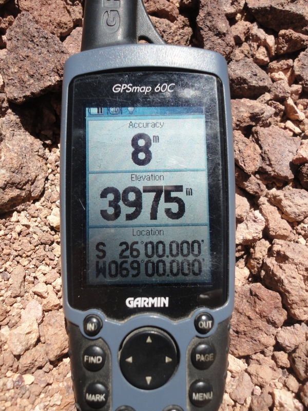 Photo of GPS at the Confluence