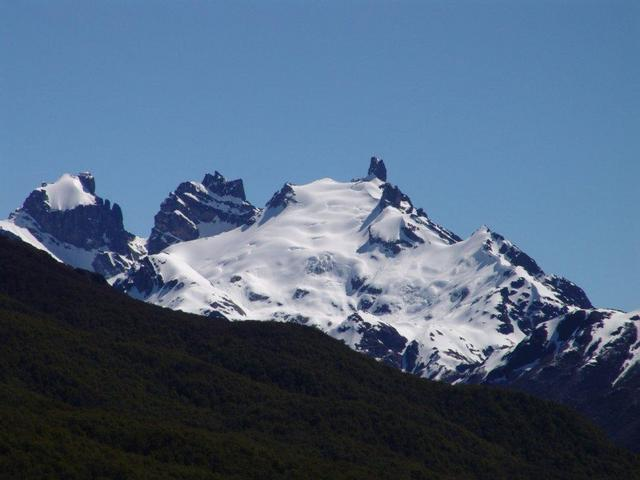 cerro castillo, highest peak on the area