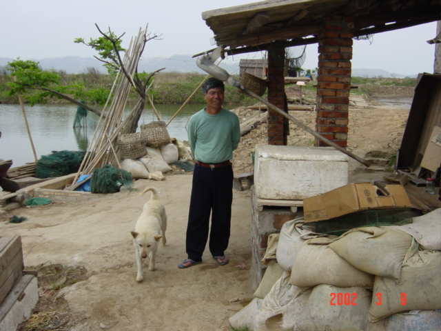 The owner of the shrimp farm